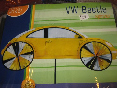 Yellow VW Spinner