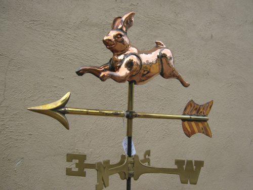 "WV505p Med Rabbit $195 Dimensions: 23""Lx11""Hx3W"""