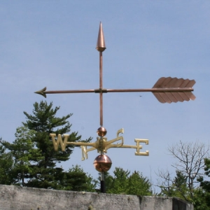 "36"" Arrow Weathervane -- Order# WF127 - $295 -- 36""L x 24""H"