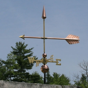 "30"" Arrow Weathervane -- Order# WF135 -- $265 -- Size: 30""L X 23""H"