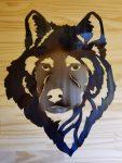 "Wolf -- $70 -- Size: 16""L x 20""H"