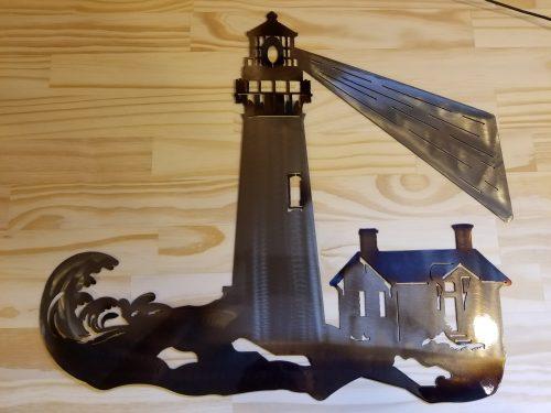 """Lighthouse -- $70 -- Size: 20""""L x 17""""H"""