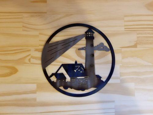 """Lighthouse Circle -- $20 -- Size: 8.5"""""""