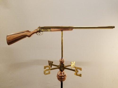 "Shotgun Weathervane -- Order# GD693P -- $345 -- Size: 44""L x 12""H"