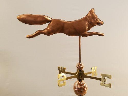 """Fox Weathervane -- Order# WF527 -- $395 -- Size: 24""""L X 15""""H"""