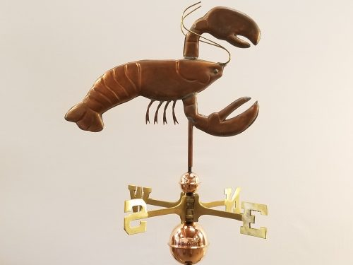 "Lobster Weathervane--Order # WF357--$395-- 20""Lx15""H"