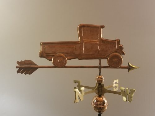 "Antique Truck Weathervane -- Order# -- $385 -- Size: 30""L x 12""H"
