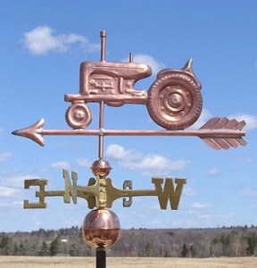 "Tractor Weathervane -- Order# WF294 -- $355 -- Size: 25""Lx14""H"