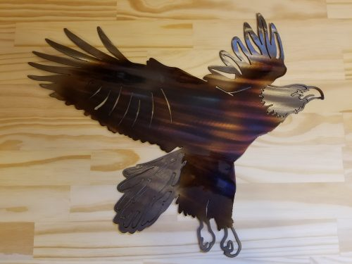 "Eagle -- $70 -- Size: 18""L x 14""H"