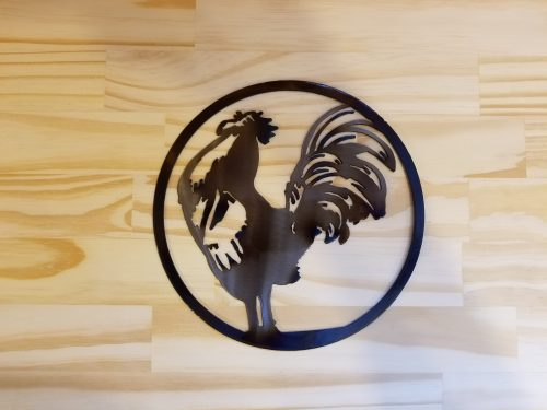 Small Rooster Circle -- $20 -- SIze: 8.5""