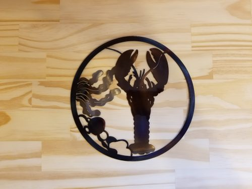 """Lobster Circle -- $20 -- Size: 8.5"""""""