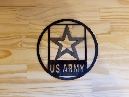 "US Army Circle -- $20 -- Size: 8.5"""