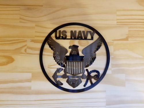 "US Navy Circle -- $20 -- Size: 8.5"""