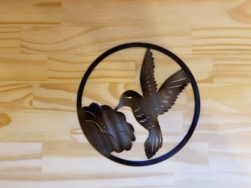 Small Hummingbird Circle -- $20 -- Size: 8.5""