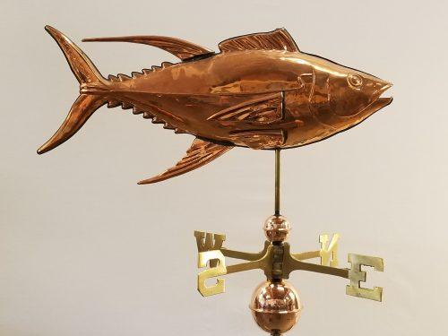 "Tuna Weathervane -- Order# WV307 -- $365 -- Size: 28""L x 14""H"