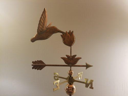 "Hummingbird Weathervane -- Order# WF295 -- $395 -- 23""L X 23""H"