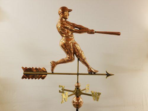 "Batter Weathervane -- Order# W271p -- $385 -- Size: 38""Lx28""H"