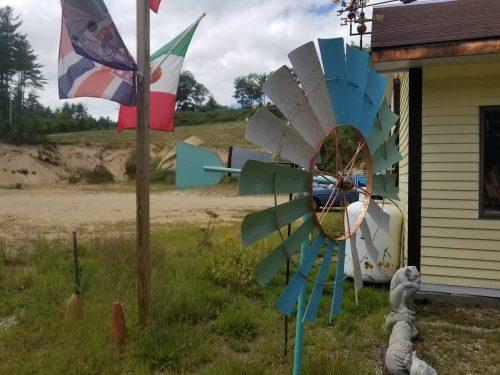"""26"""" Coastal Windmill -- $100 -- Side View"""