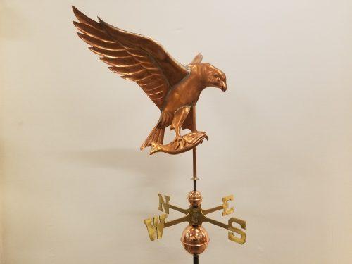 "Osprey Weathervane -- Order# WF517 -- $445 -- Size: 14.5""L X 23""H 28"" WS"